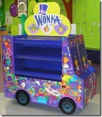 Wonka merchandising unit.200