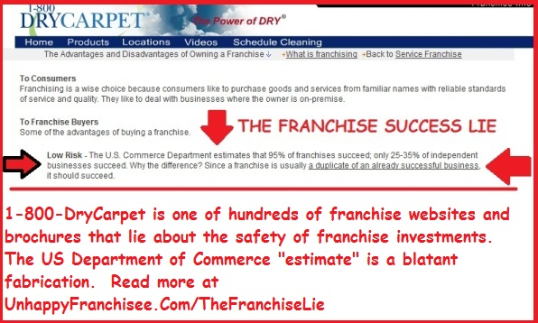 The Franchise Lie