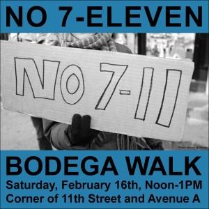 No 7-Eleven Bodega Walk
