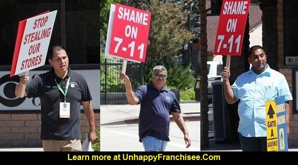 7-Eleven Franchise Protest