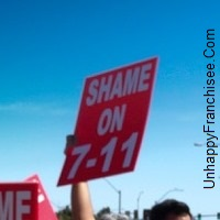 7-Eleven Franchise Protest