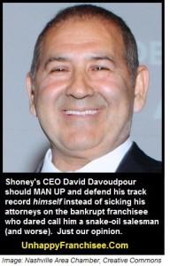 Shoneys David Davoudpour