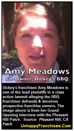 Dickey's franchisee Amy Meadows