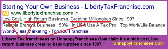 Liberty Tax Franchise