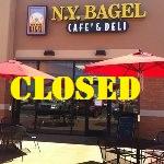 NY Bagel Closed El Paso TX