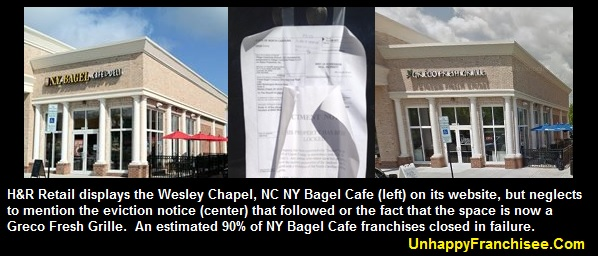 H&R Retail NY Bagel Cafe