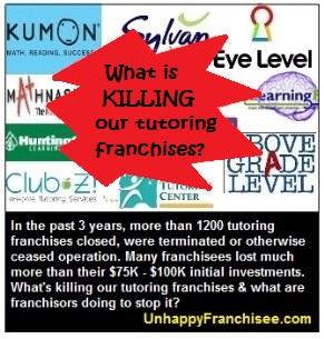 Tutoring franchise failures