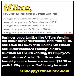 U-Turn Vending Profit