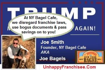 Joe Smith Bagel Scam