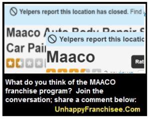 maaco complaints
