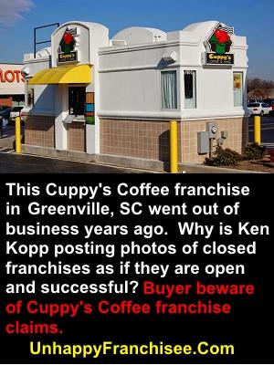 Cuppy's Coffee Drive-thru