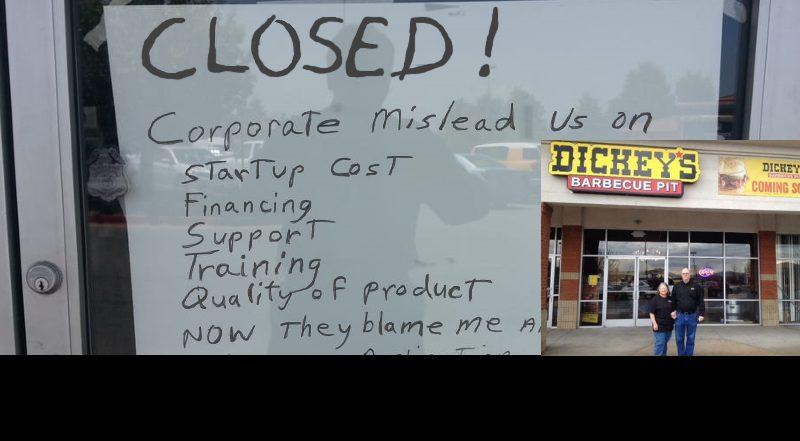 Dickeys Closed
