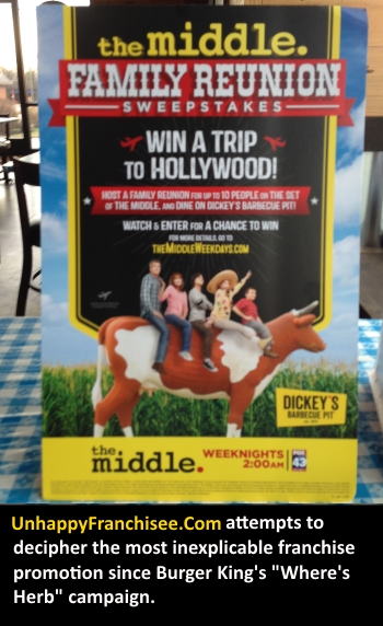 Dickey's The Middle Contest