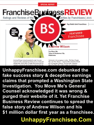 Franchise Business Review Lies