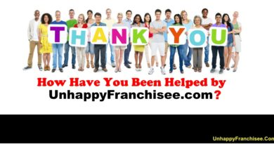 UnhappyFranchisee.Com