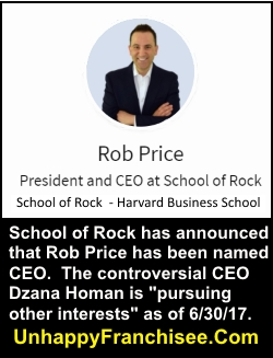 Rob Price School of Rock