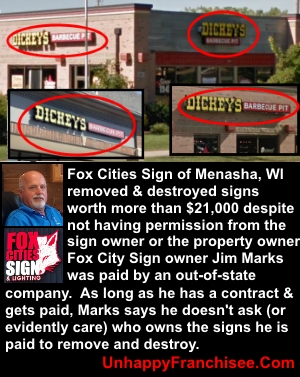 Fox Cities Sign