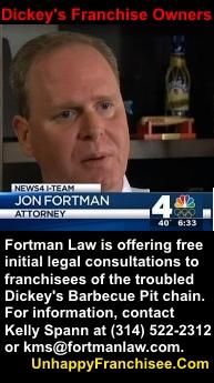 Dickeys lawsuits