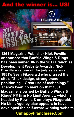 Buffalo Wings & Rings Web Award