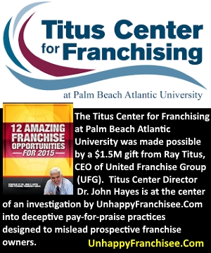 titus center for franchising
