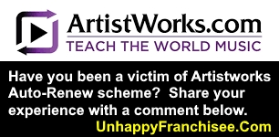 Artistworks complaints