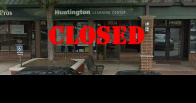 Huntington Closed