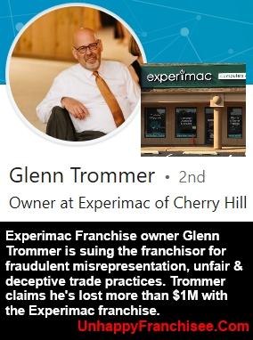 Experimac Glenn Trommer