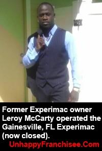 Experimac Leroy McCarty