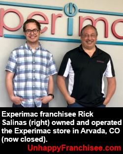 Experimac Rick Salinas