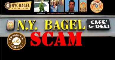 Davidovich NYC Bagel Scam