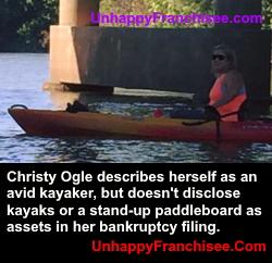Christy Ogle bankruptcy