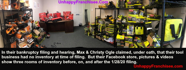 Max Ogle Fraud