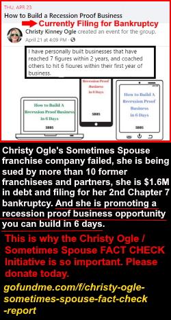 Christy Ogle business