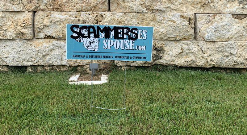 Sometimes Spouse Scam