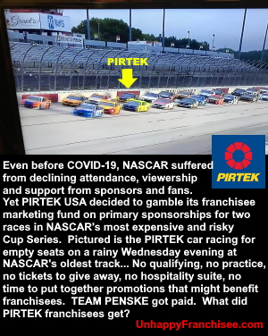 PIRTEK RACING NASCAR