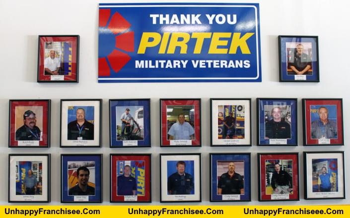 PIRTEK Veterans Wall
