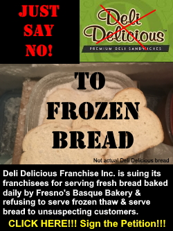 Deli Delicious Frozen Bread