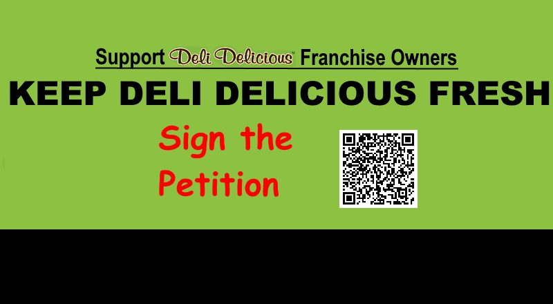 Petition Keep Deli Delicious Fresh