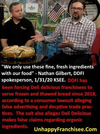 Deli Delicious False Advertising