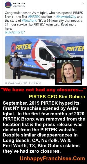 Kim Gubera PIRTEK Closures