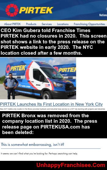 PIRTEK New York